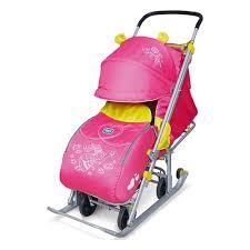 <b>Санки</b>-<b>коляска Ника детям</b> 7 (Фея Малиновый) — купить в ...
