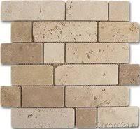 «<b>Мозаика Dune</b> Mosaicos Mosaico travertino brick 184996 30,5x30 ...