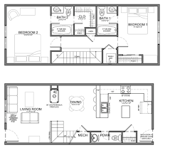 ideas about Narrow House on Pinterest   Narrow House Plans    small skinny house plans   This unit is about the same size but slightly wider and