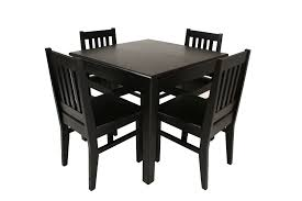black kitchen dining sets: media table home square kitchen dining room interior cool black elegant square mahogany kitchen tables with armless chairs best home media square table piece leg eben wooden seat chair standard eased edge profiles with  sea