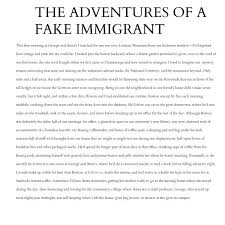 the wardrobes best dressed immigration essays by sybil baker  this selection comes from the essay collection immigration essays available from campr press order your copy here