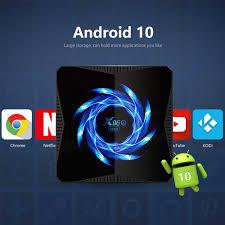 X96Q MAX Smart <b>TV Box Android</b> 10 Allwinner H616 4GB 32GB ...