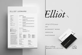 resume templates that look great in creative market blog resume cv elliot