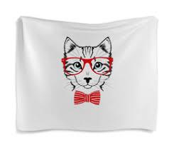 """купить гобелены с авторскими принтами """"<b>cat</b>"""""""