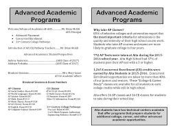 advanced academics information night alta high school picture