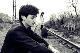 Image result for girl leaving boy sad