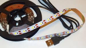 <b>5V USB</b>-powered <b>LED</b> Strip Test - YouTube