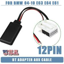 APS Bluetooth Module AUX Cable For Nissan <b>8PIN To 3.5mm</b> Car ...
