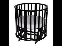 Сборка детской круглой <b>кроватки</b>-трансформер Антел ...