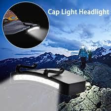 Super Bright 11 LED cap light Headlight HeadLamp head Flashlight ...