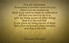 Ramana Maharshi on Pinterest | Wisdom, Bhagavad Gita and Consciousness via Relatably.com