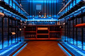 to this bellevue custom wine cellar