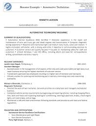 automotive technician resume sample   good resume sampleautomotive technician resume sample