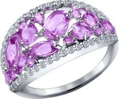 Серебряные <b>кольца</b> с <b>аметистом</b> - продажа по низким ценам в ...