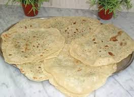 خبز الصاج -اكل اردني