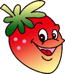 Image result for strawberry plant clipart