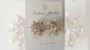 <b>Серьги Fashion Jewelry</b> - со стразами- не бу купить в Москве ...