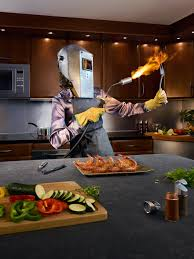 creative advertising photography and photo manipulation roasting chicken