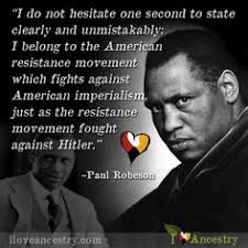 Paul Robeson Famous Quotes. QuotesGram