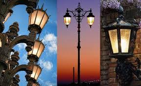 Lanterna Da Parete : Lanterne a luci led per lampioni da giardino