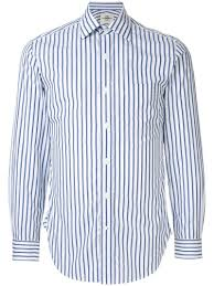 <b>Kent & Curwen</b> - рубашка в полоску - для мужчин - Хлопок - 16 1/2 ...