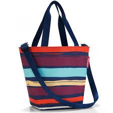 <b>Сумка</b>-<b>шоппер REISENTHEL Shopper</b> XS Artist Stripes — купить в ...