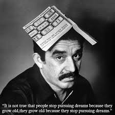 Adorable Gabriel García Márquez Photos Juxtaposed With Poignant ... via Relatably.com