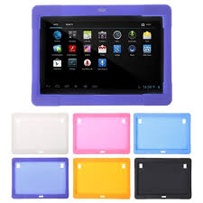 10.1 inch <b>Silicone Tablet Case Cover</b> for Tab MTK8752 K107 S107 ...