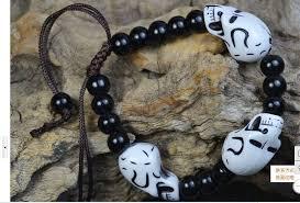1PCS <b>Bracelets and bracelet pirate</b> skull beads bracelet lovers ...