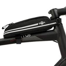 Seat Saddle <b>Bag Cycling</b> Front Frame Tube Storage <b>Bag</b> Beam ...