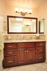 vanity mirror size above mirror lighting bathrooms
