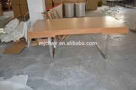 solid walnut desk stainless steel legs hans wegner ch110 office desk ch 110 office desk carl