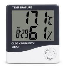 Indoor Room LCD Electronic Temperature Humidity Meter Digital ...