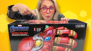 <b>Avengers</b>: Endgame Power <b>Gauntlet</b> Unboxing - YouTube