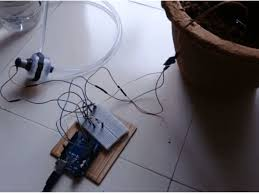 <b>Automatic Plant Watering</b> System Using Arduino Uno © GPL3+