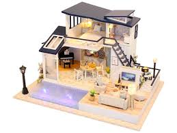 <b>Сборная модель DIY</b> House Лаунж кафе M906 - ElfaBrest