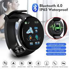 D18 <b>Smart Watch Men</b> Women <b>Fashion</b> Sport Watches Heart Rate ...