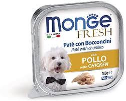 <b>Monge</b> Fresh <b>Dog</b> Chicken Gr.100: Amazon.co.uk: <b>Pet</b> Supplies
