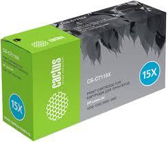 Тонер-<b>картридж</b> Cactus CS-C7115XS для <b>HP</b> LJ 1200/1220/3300 ...