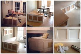 kitchen nook set storage