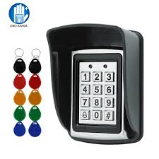 <b>RFID Metal Access Control</b> EM Card Reader Keypad with 10 ...