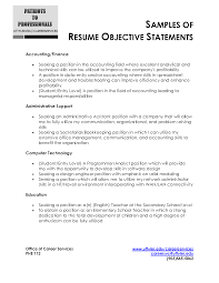 sample marketing resume objectives free top entry level objective resume
