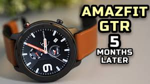 <b>Amazfit GTR 47mm</b> Review After 5 Months - YouTube