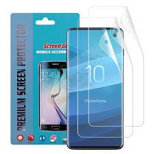 Hydrogel Film <b>10 Pcs</b> Screen Protector For <b>Samsung Galaxy S10+</b> ...