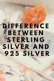 The Difference Between Sterling <b>Silver</b> and <b>925 Silver</b> | Jewelry ...
