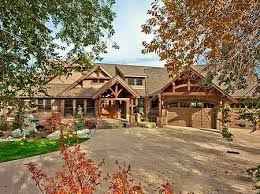 images about house plans on Pinterest   House plans    Step inside this luxury Craftsman house plan and you    ll be blown away by the