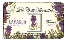 <b>Мыло Dei Colli Fiorentini</b> Relaxing Lavanda Soap 250г ...