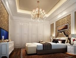 room elegant wallpaper bedroom: living room elegant brown interior wall design floral wall pattern bedroom white sleeper sofa shade table lamp chandelier wooden floor modern rugs storage