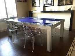 kitchen room pull table: convertible pool tables dining room pool tables by generation chic pool