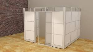 white home office divider office cubicle walls partitions panels blue curved office desk dividers